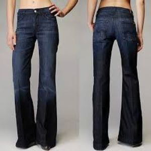 =SEVEN FOR ALL MANKIND=GINGER HIGH RISE FLARE JEAN